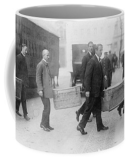 Coffee Mug featuring the photograph Germany Inflation, 1923 by Granger