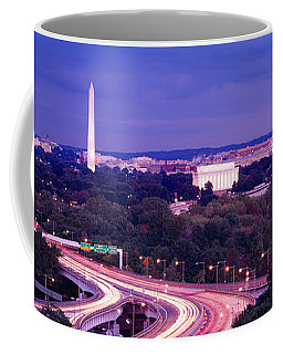 High Angle View Of A Cityscape Coffee Mug