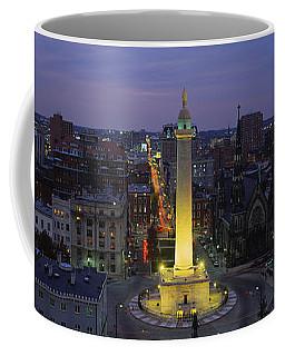 High Angle View Of A Monument Coffee Mug