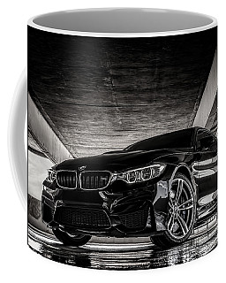 Coffee Mug featuring the digital art I Take Mine Black by Douglas Pittman
