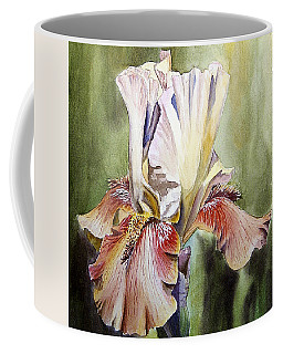 Iris Painting Coffee Mug