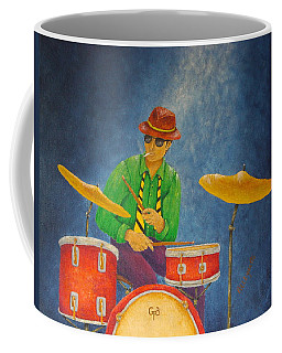 Jazz Drummer Coffee Mug