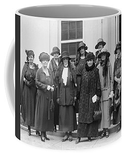 Coffee Mug featuring the photograph League Of Women Voters by Granger