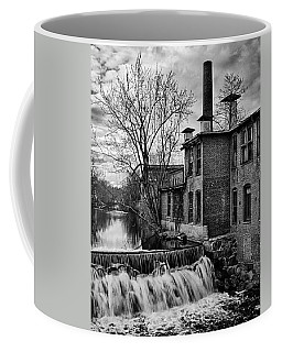 Coffee Mug featuring the photograph Little River Dam by Betty Denise