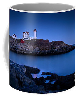 Coffee Mug featuring the photograph Nubble Lighthouse by Brian Jannsen