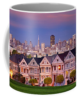 Coffee Mug featuring the photograph Painted Ladies by Brian Jannsen