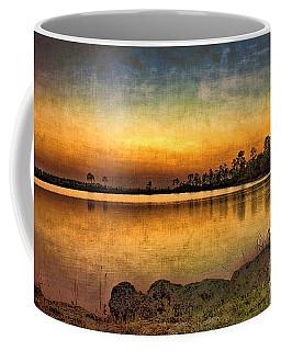 Pine Glades Lake Coffee Mug by Anne Rodkin