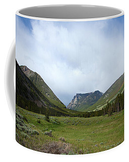 Rainbow At Beartooth Pass Coffee Mug