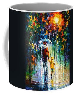 Rainy Walk With Daddy Coffee Mug