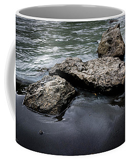 Rocks In The River Coffee Mug by Andrew Matwijec