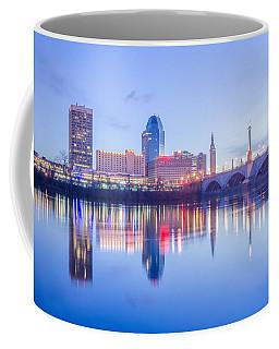 Springfield Massachusetts City Skyline Early Morning Coffee Mug