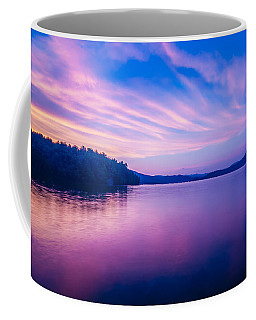 Sunset During Blue Hour At The Lake Coffee Mug