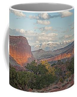 The Goosenecks Capitol Reef National Park Coffee Mug