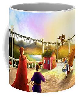 The Palace Balcony Coffee Mug