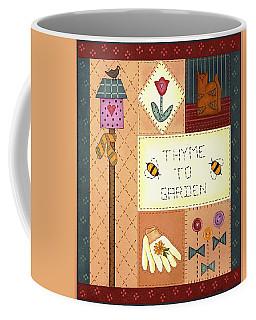 Thyme To Garden Coffee Mug