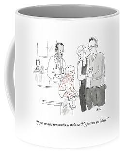 If You Connect The Measles Coffee Mug
