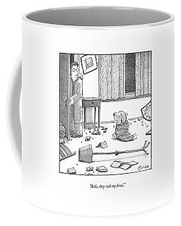 Artie, They Took My Bowl Coffee Mug