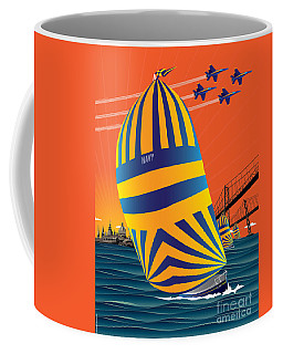 Usna Sunset Sail Coffee Mug