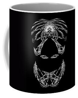 Coffee Mug featuring the digital art Veiled Lady by Jane McIlroy