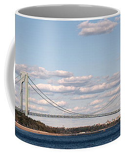 Verrazano Narrows Bridge Coffee Mug