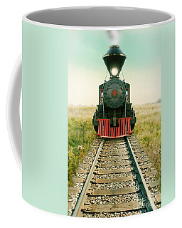 Vintage Train Engine Coffee Mug