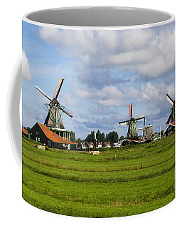 3 Windmills Coffee Mug by Pravine Chester