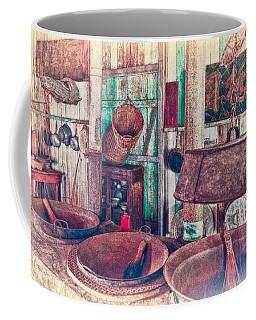 Coffee Mug featuring the photograph 3-wok Kitchen by Jim Thompson