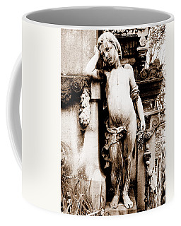 Pere-lachais Cemetery In Paris France Coffee Mug by Richard Rosenshein
