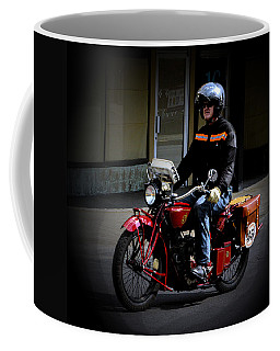 35 Arrives Coffee Mug