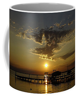 An Outer Banks Of North Carolina Sunset Coffee Mug by Richard Rosenshein