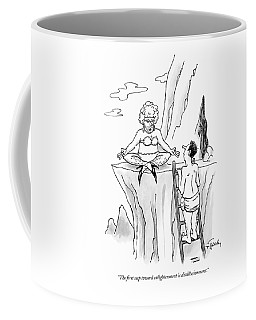 The First Step Toward Enlightenment Coffee Mug