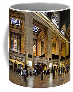 360 Panorama Of Grand Central Terminal Coffee Mug by David Smith