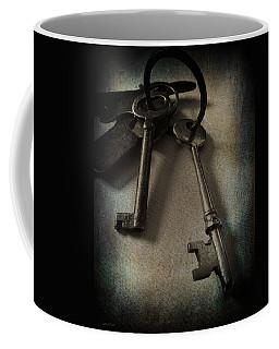 Vintage Keys Vignette Coffee Mug