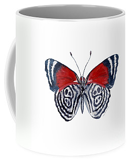37 Diathria Clymena Butterfly Coffee Mug