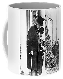 Coffee Mug featuring the photograph Woodrow Wilson (1856-1924) by Granger