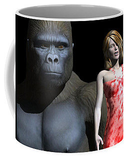 3d Is No Place To Hide Coffee Mug