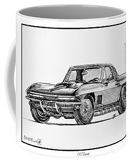 1967 Corvette Coffee Mug