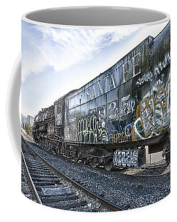 4 8 4 Atsf 2925 In Repose Coffee Mug by Jim Thompson