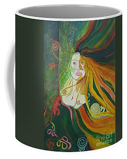 Alter Ego Coffee Mug by Diana Bursztein