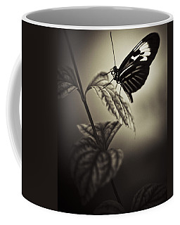 Butterfly Brown Tone Coffee Mug by Bradley R Youngberg