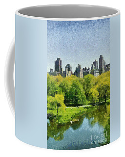 Central Park In New York Coffee Mug