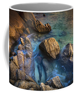 Coffee Mug featuring the photograph Chanteiro Beach Galicia Spain by Pablo Avanzini