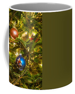 Coffee Mug featuring the photograph Christmas Tree Ornaments by Alex Grichenko