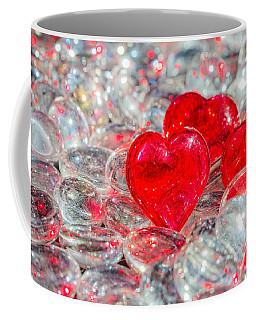 Crystal Heart Coffee Mug by Peter Lakomy