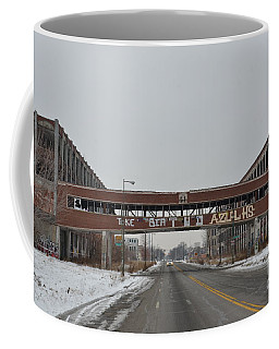 Detroit Packard Plant Coffee Mug
