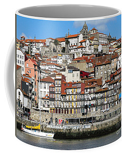 Coffee Mug featuring the photograph Douro River by Arlene Carmel