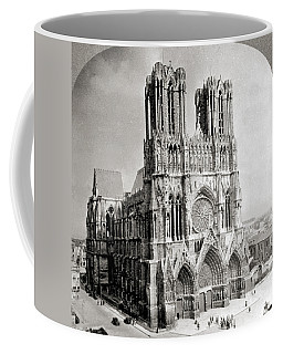 France Reims Cathedral Coffee Mug