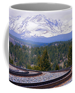 Freight On The Divide Coffee Mug