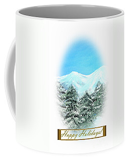 Happy Holidays. Best Christmas Gift Coffee Mug