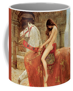 Coffee Mug featuring the painting Lady Godiva by John Collier